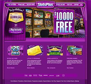 Slots Plus Casino, $500 Cashback, Anytime - Anywhere!