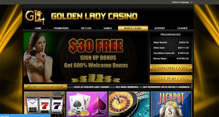 Avoid Golden Lady Casino – Bonus Fraud