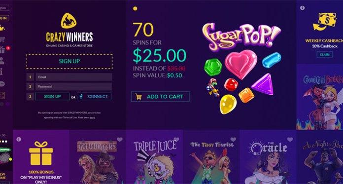 Crazywinners Casino Dispute - Resolved
