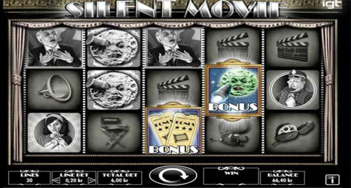 New Silent Movie Slot Released by IGT