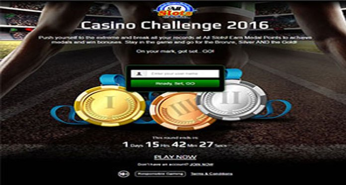 All Slots Casino Challenge 2016, Go for The Gold