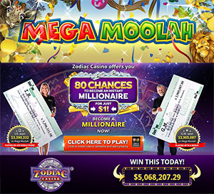Zodiac Casino Players Wins €7,968,311.26 Jackpot
