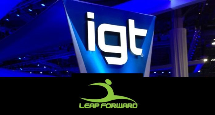 IGT Acquires Assets From Leap Forward Gaming, Inc.