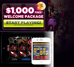 Play with $1,000 Free on the Go at Slot Joint Casino, New Sign Up Bonus