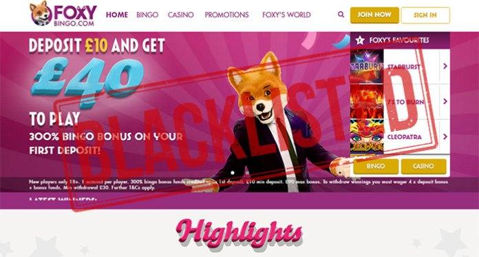 Foxy Bingo Affiliate Scam