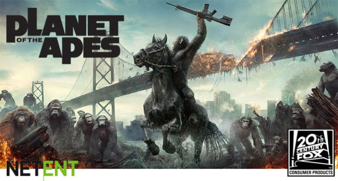 NetEnt Lands Licensing Agreement for Planet of the Apes Slot