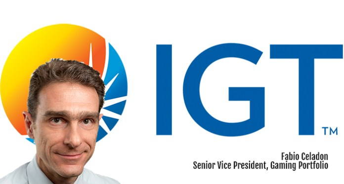 IGT Appoints Fabio Celadon As Senior Vice President, Gaming Portfolio