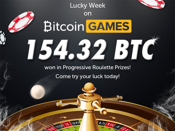 Bitcoin Games Pays Out 154.32 BTC in Progressive Jackpots in April