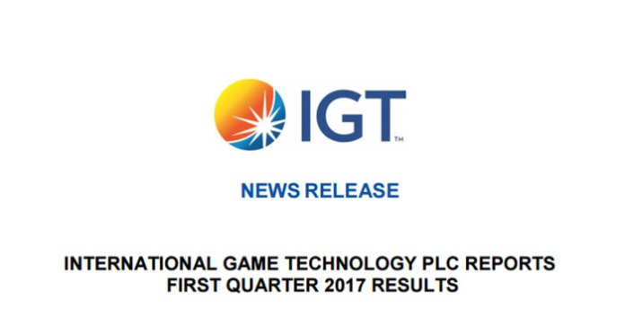 Dynamic First Quarter 2017 Results for IGT