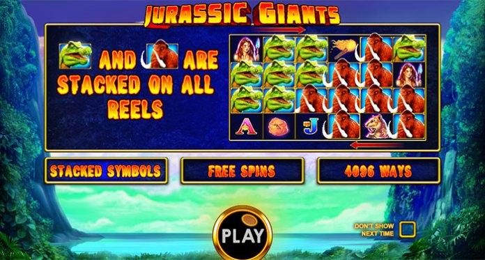 Explore the Prehistoric Jungles in Jurassic Giants™ Slot