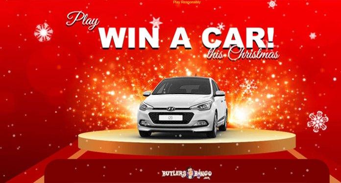 Win a Brand New Hyundai i20 Car at Butler's Bingo