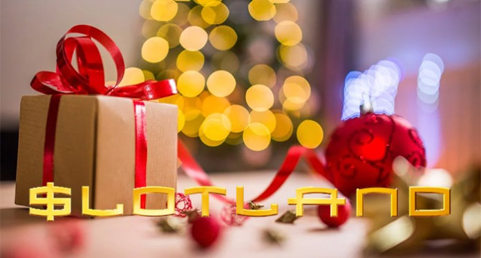 Slotland's Merry Christmas Slots Jackpot Bonus