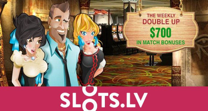 Weekly Double Up with the New Slots.lv Casino
