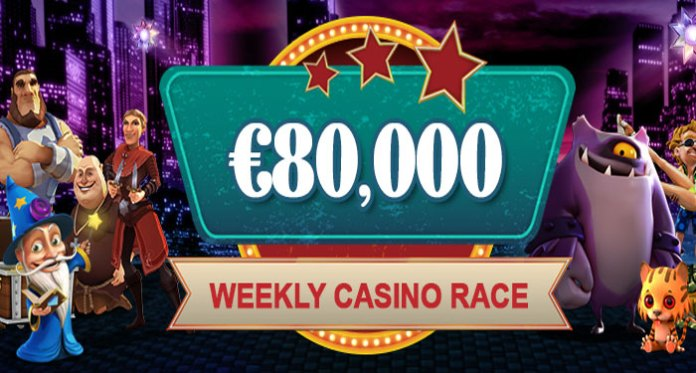 Video Slots Giving Away € 80,000 in Their Casino Races Cash Rewards