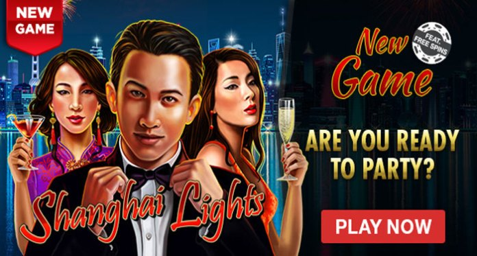 Intertops Poker New Tournament Schedule + 75% up to $300/30 Spins on Shanghai Lights