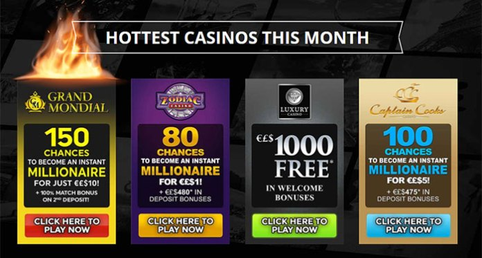Join the Casino Rewards Program with These Premiere Loyalty Offers