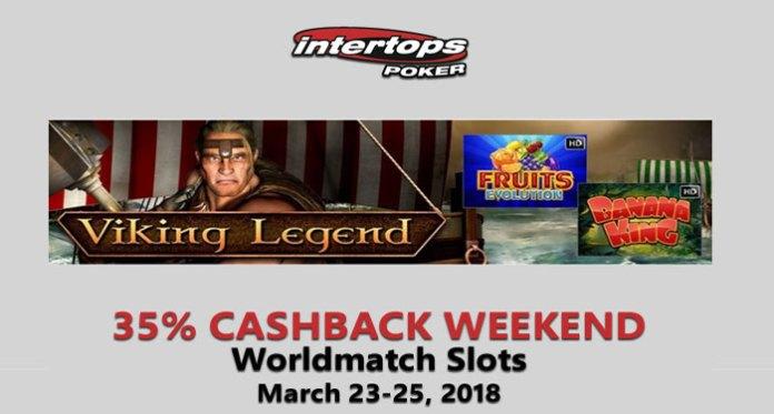 Join the Huge Worldmatch Cashback Weekend at Intertops Poker