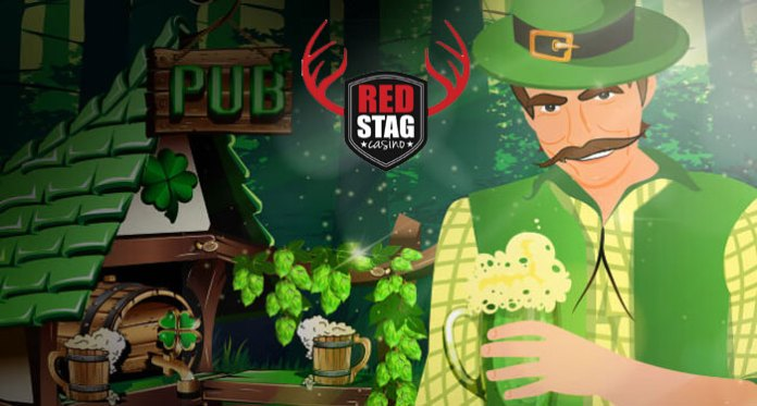 Luck O' the Irish Bonuses at Red Stag