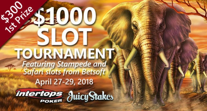 Intertops Poker Offering $1000 in Prizes in Betsoft Slots Tournament