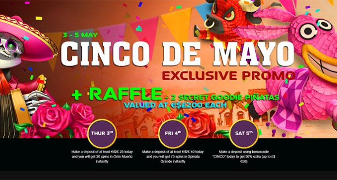 Join NextCasino, Celebrate Cinco de Mayo with Three Days of Bonuses