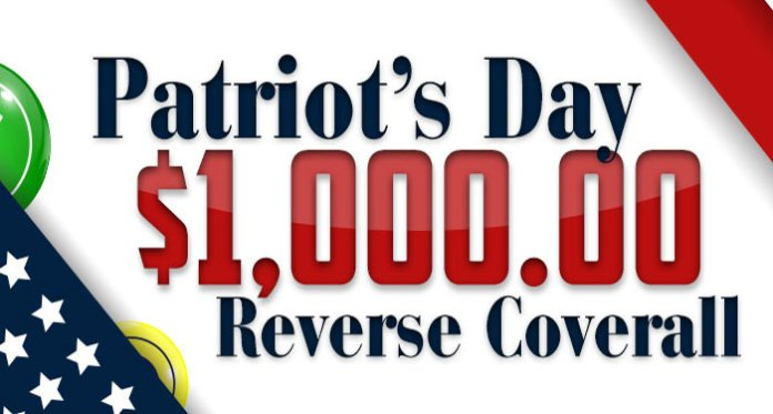 Celebrate Patriot's Day at Downtown Bingo, Over $1K to Be Won
