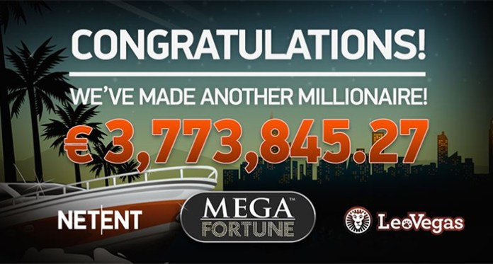 Net Entertainment's Mega Fortune Slot Pays Out Once Again