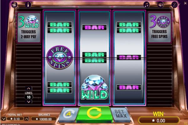 Wild Diamond 7x Slot Game