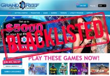 Grand Reef Casino Scam