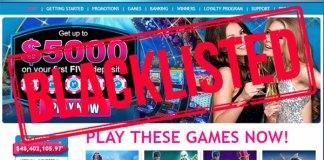 Grand Reef Casino Scam