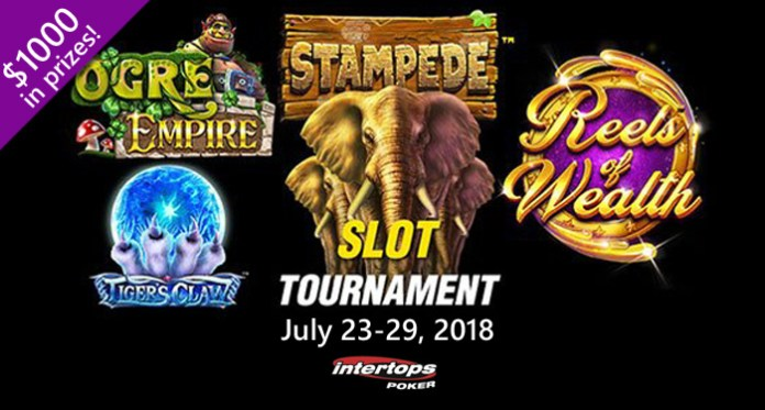 $1000 Fan Favorites Slots Tournament at Intertops Poker
