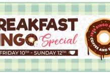 Join Downtown Bingo for Their Breakfast Bingo Special