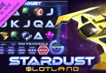 Get Special Bonuses on Slotland Casino's New Stardust Slot