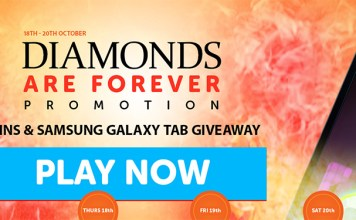 WildSlots Diamonds are Forever Free Spins/Raffle Promotion