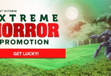 Extreme Horror Promotion at CasinoLuck on Betsoft Slots