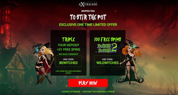 Halloween Bonus Exclusives, Treats of Spooktacular Casino Offers