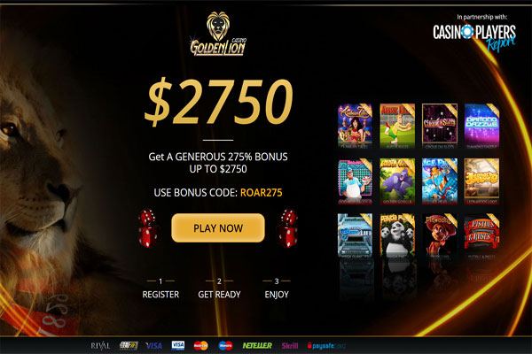 Golden Lion Casino Reviews
