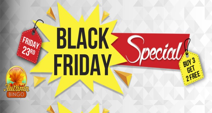 Enjoy Some Black Friday Specials this Friday at Downtown Bingo
