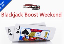 Blackjack Boost, Extra 10% to Blackjack Wins at Intertops Poker