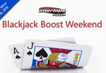 Blackjack Boost, Extra 10% to Blackjack Wins at Intertops Poker