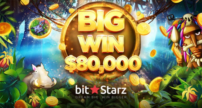 BitStarz' Jungle Rumble Pays Amazing $80,000 Jackpot Win