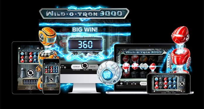 NetEnt Launches its Wild-O-Tron 3000 Slot