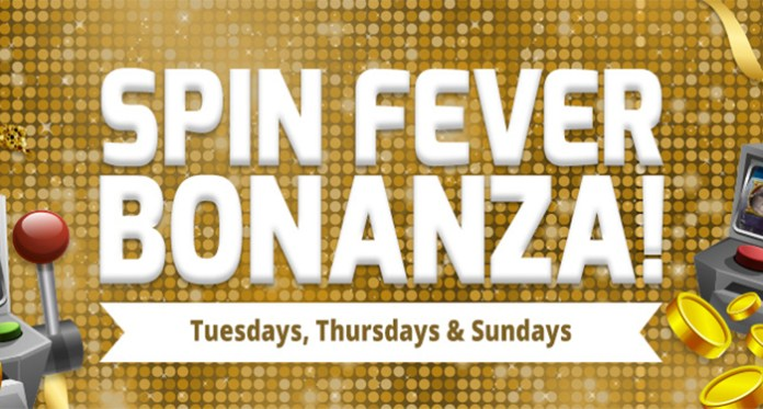 Play Spin Fever Bonanza every week at Downtown Bingo