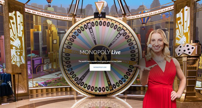 Evolution Gaming Launches its Innovating MONOPOLY Live Game