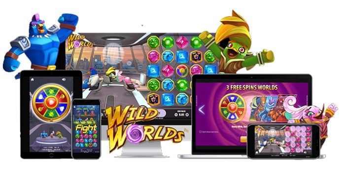 Preview NetEnt's New Wild Worlds Slot with Feature Rich Bonuses
