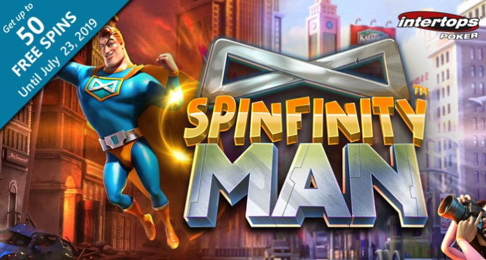Intertops Poker Launches Betsoft's New Spinfinity Man