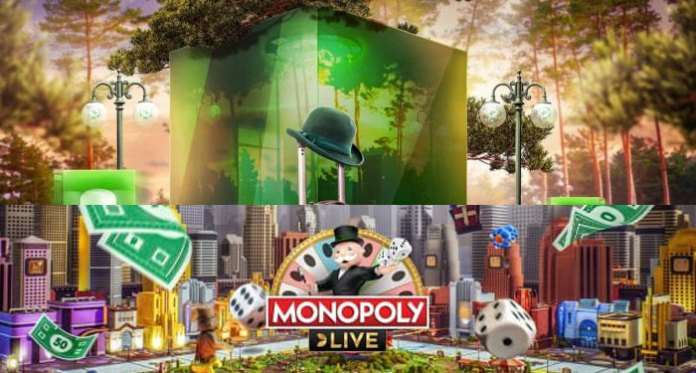 MONOPOLY Live €5,000 Cash Race at Mr Green Casino