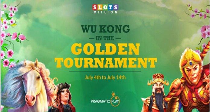 Join in the €1,5k Monkey Warrior Tournament at SlotsMillion