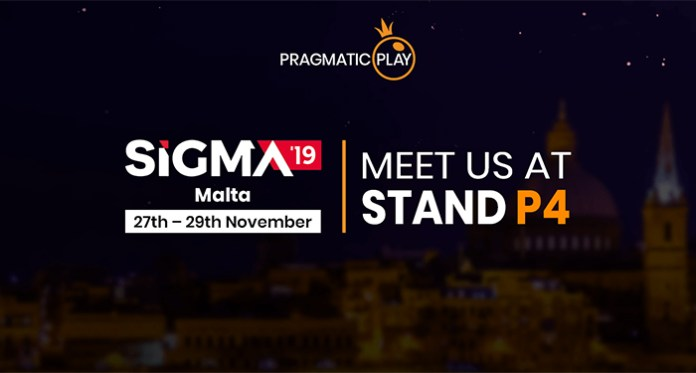 Pragmatic Play To Showcase at the SiGMA'19 Event