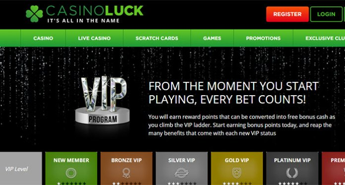 CasinoLuck Offers Some of the Best Loyalty Rewards Around!