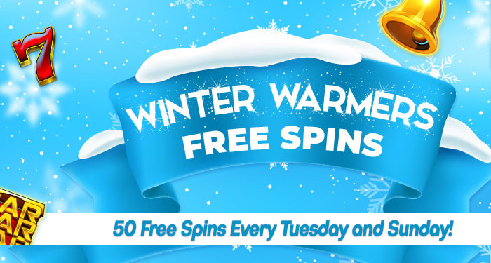 Winter Warmer Free Spins At Downtown Bingo In January